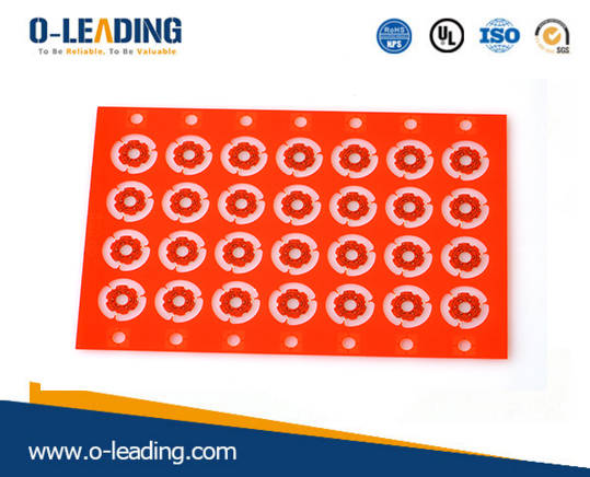 Sell  2layer rigid PCB with red soldermask ultra thin PCB