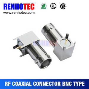 Wholesale antenna extra cable: Reliable Quality BNC Female Right Angle 33.4mm Bnc Metal Shell PCB Connector
