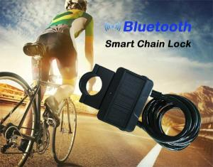 Wholesale alarm: Bluetooth Smart Lock with Alarm Bicycle Smart Lock Bicycle,Motorcycle Keyless Lock APP Control