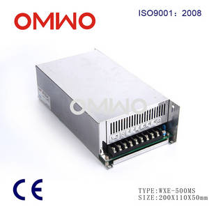 Wholesale switch power supply: 500w Single Output Switching Power Supply WXE-500MS-24
