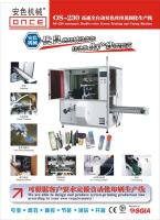 ONCE Machinery OS-230 Two Colors Automatic Screen Printing and Curing Machine 2