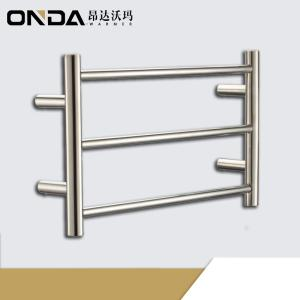 Wholesale entirely waterproof: Chrome Plating Small Size Heated Towel Warmer Bathroom Rack