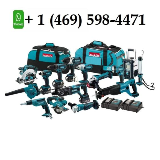 100% Original Makitas LXT1500 18 Volt LXT Lithium Ion Cordless Drill 15 Piece Combo Kit
