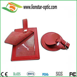 Wholesale Parts & Accessories: Leather Luggage  Tag ,Custom Logo Luggage Tag