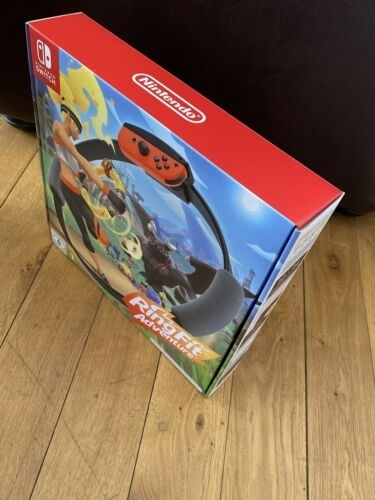 Ring Fit Adventure Official Nintendo Switch Game Brand New BNIB Buy It Now