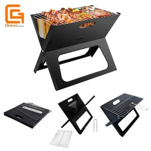 Wholesale grill: X-style Portable Folding BBQ Grill Notebook Grills
