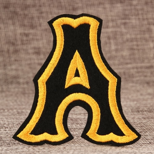 Sell Letter A Cheap Custom Patches