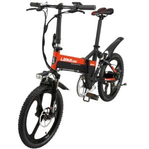 Wholesale portable electric bike: 20 Inch 240W 48V Folding City Ebike Electric Road Bicycle