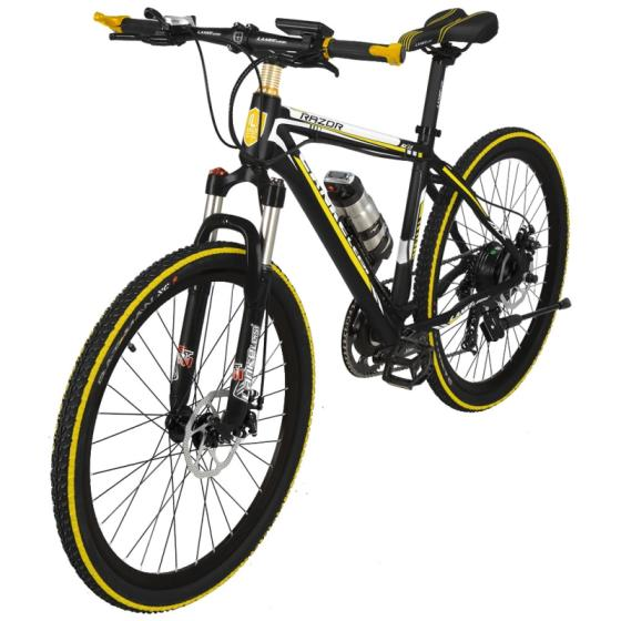 26 Inch 500W Electric Mountain Bicycle 36V 6-Gears Ebike
