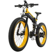 26 Inch Fat Tire 1000W 48V Folding Electric Mountain Bike