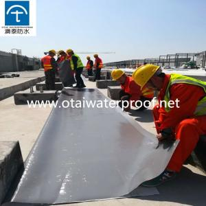 Wholesale golden root: 45 Mil 60mil Thickness PVC Waterproof Roofing Membrane