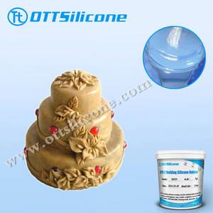 Wholesale silicone cake mold: Food Grade Liquid Silicone Rubber of RTV2/Cartoon Silicone Cake Mold
