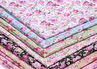 133 X 72 Patterned Polyester Twill Fabric With ECO - Freindly Material