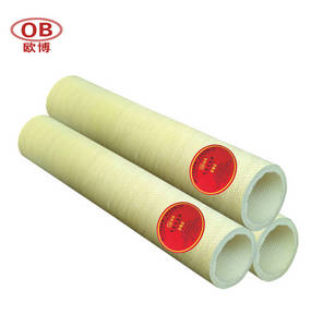 Wholesale green tube: Yellow and Green Para Aramid Roller Tube Aluminum IndustryNomex Roller Sleeve Aluminum Extrusion Out