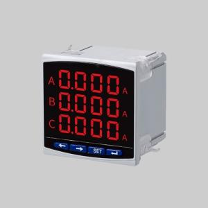 Wholesale led display: High-definition LED Digital Display Three-phase Electric Ampere Meter with RS485 Communication Overa