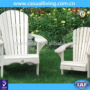 Wholesale Patio Benches/Chairs: Popular Garden White Woooden Adirondack Chair