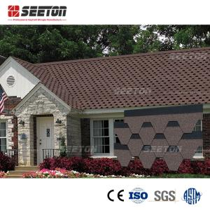 Wholesale Roof Tiles: Bark Brown Color Suit for All Slope Roof High Quality Hangzhou Building Materials Asphalt Shingles