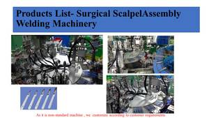 Wholesale Surgical Scalpel: Scalpel Blade Automatic Assemble Machine