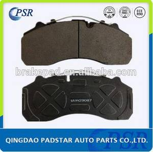 Wholesale heavy truck parts: Wva 29087 Auto Parts Heavy Duty Truck Bus Brake Pads E-MARK Certification Disc Brake Pad