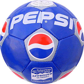 Wholesale promotion ball: Pepsi Soccer Promotional Ball