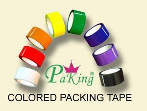 Wholesale packing tape: Coloured Packing Tape