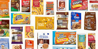 Oat Meals, Cereals, Corn Flakes and Noodles