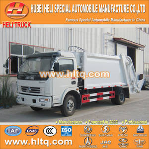 Wholesale chaoyang tires: DONGFENG 4x2 6tons Compactor Garbage Truck