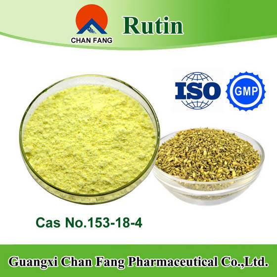 medical: Sell sophora japonica extract food grade and medical grade rutin cas no.153-18-4