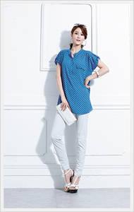 Wholesale fashion: Ladies Top-    2220