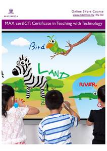 Wholesale Education & Training: Max Certict: Certificate in Teaching with Technology