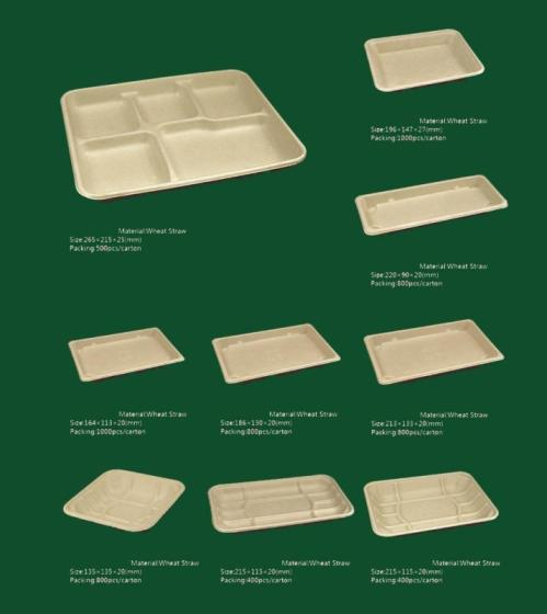 Sell Biodegradable disposable tableware container