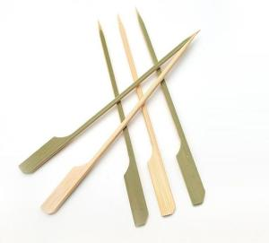 Wholesale bamboo: 20cm Pointed Bamboo Square Rod Sticks Teppo Skewers
