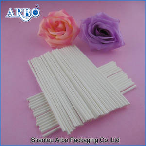 Wholesale fda approved: FDA Approved Paper Color Lollipop Stick Candyfloss Paper Stick Paper Lollipop Stick