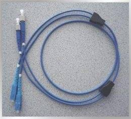 Wholesale Telephone Headsets: Flexible Armoured Blue 6mm (12core) Diameter Optical Fiber Patch Cord Gray (Multimode)