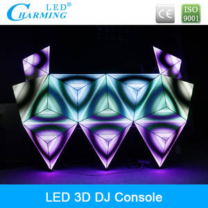 Wholesale dj controller: Hot-sale Full Color Video Sound Control DJ Booth 2014