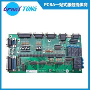Wholesale pcba circuit board: Access Control System PCB Assembly/ Green Solder Mask
