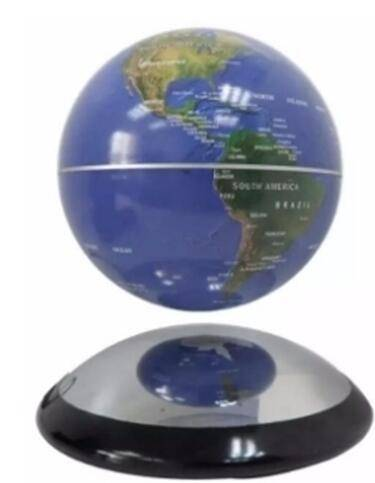 Sell metal ufo base 6 inch magnetic rotating world globe