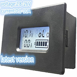 Wholesale Battery Testers: CE Certificate Digital Lithium Battery Tester LCD Meter Voltage/Current/ Discharge Resistance
