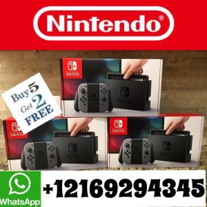Wholesale Other Games: FREE SHIPPING OFFER PRICE Brand New Nintendo Switch 32GB Console with Neon Red and Blue Joy-Con V2