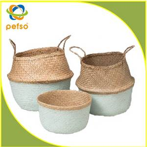 Wholesale seagrass: Seagrass Belly Basket
