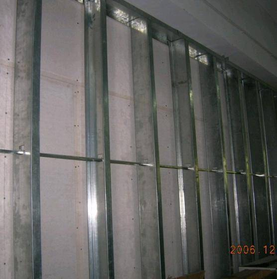 Metal Stud Drywall Stud Drywall Track Partition System