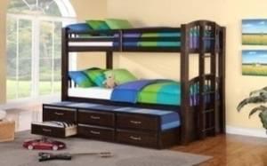 Wholesale children's bedroom furniture: Bunk Beds BB05