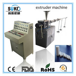Wholesale plastic extruder machine: High Quality PTFE Teflon Rod Extruder plastic machine
