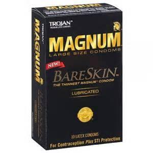 Wholesale Condom: America's #1 Condom Trojan Magnum BareSkin Lubricated Condoms (10 Condoms)-Exp.12/2020