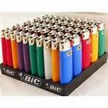 Wholesale gas lighter: 50pcs/ Tray Brand New Maxi Bic Gas  Lighters Wholesale Lighter Assorted Colors