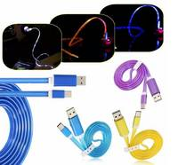 Buy Glowing LED Light Type-c Cable Charging Data USB3.1 Cable