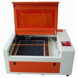 Wholesale fiberglass supports beam: CS-4040 Desktop Mini 40W Engraving Cutting Machine CNC Laser