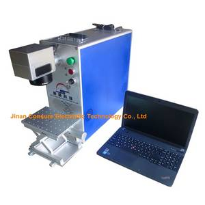 Wholesale 20w 30w fiber laser: CS-FP20 Fiber Laser Machine for Iphone Back Glass