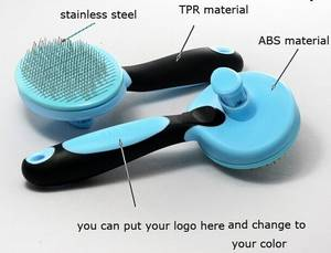 Wholesale self-cleaning: Self-Cleaning Dog Comb