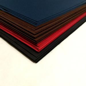 Wholesale decorative flowers: 100% Virgin Wood Pulp Black Paper Board / Black Cardboard